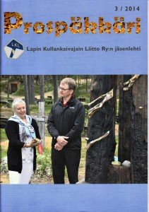 Lehden kannessa Solange Van Der Moer ja Jouko Korhonen tuovat Petronellan muistokiven Inarin hautausmaalle, jonne myös osa tuhkasta levitettiin.